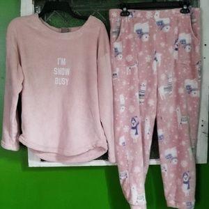 Womens llama pajamas